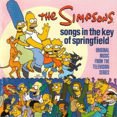 THE SIMPSONS SONGS IN THE KEY OF SPRINGFIELD