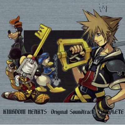 王国之心 9CD合集 KINGDOM HEARTS COMPLETE