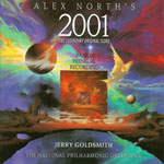 2001太空漫游 被退稿配乐(原版录音)2001: A SPACE ODYSSEY SOUNDTRACK (REJECTED BY ALEX NORTH, JERRY GOLDSMITH)
